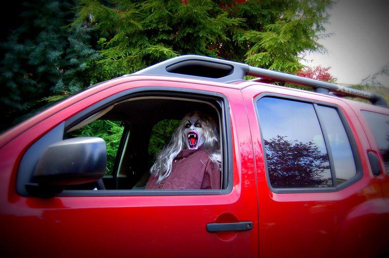 Vampire driver BOO!