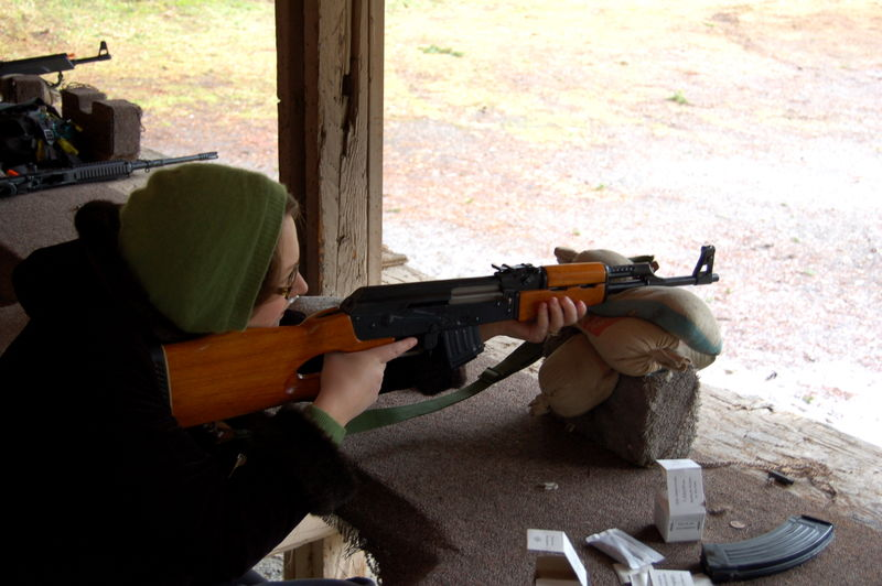 Video of me shooting the AK-47